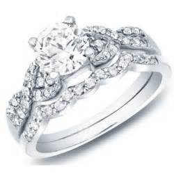 wedding rings sets cheap delightful cheap wedding set 1 carat cut on 10k gold jeenjewels