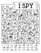 Spy Printable Road Trip Paper Games Eye Travel Worksheets Diy Trail Printables Papertraildesign Puzzles sketch template
