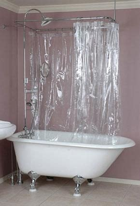 claw foot tub shower curtains 17 best images about clawfoot tub shower on