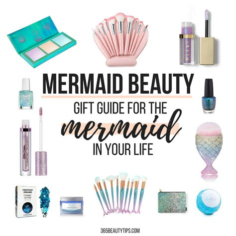 mermaid beauty holiday gift guide   mermaid