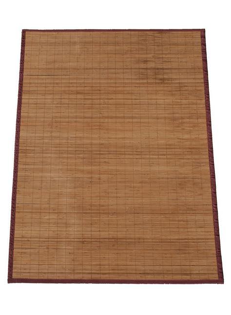 tapis en bambou pas cher tapis bambou bali naturel de la collection dezenco