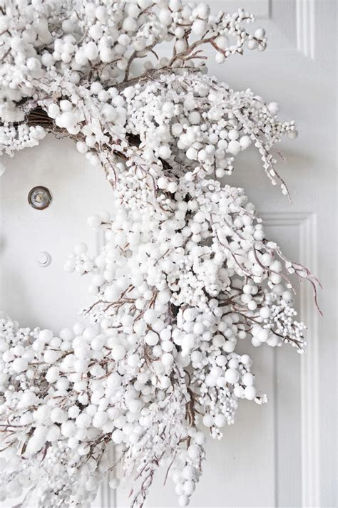 and white christmas wreaths 75 awesome christmas wreaths ideas for all types of d 233 cor digsdigs