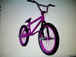 Neon Pink Custom BMX bike