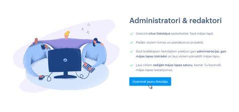 Webnode — Kā uzaicināt lietotājus rediģēt mājas lapu