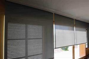 store interieur enrouleur toile sur mesure pour store With store electrique interieur prix