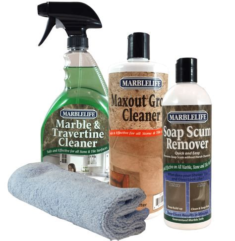 Bathroom Cleaning Kit for Marble by MarblelifeMarblelife