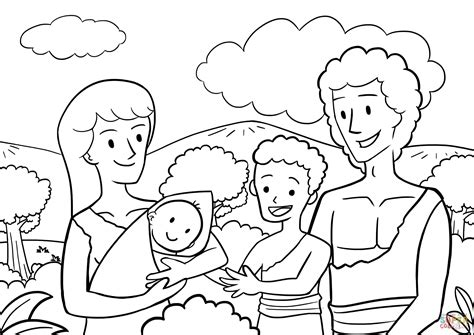 Kain En Abel Kleurplaat by Cain And Abel Bible Coloring Pages Sketch Coloring Page
