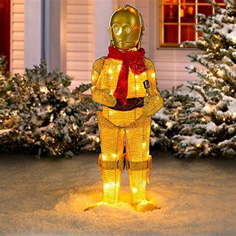 outdoor star wars yard decorations christmas gifts