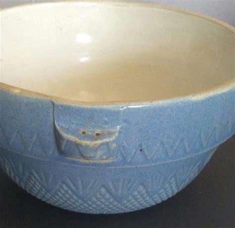 antique stoneware crock 2 blue stoneware bowl blue gray bowl crock bowl mixing bowl