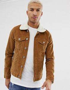 Veste Homme Col Mouton : vestes en jean pour homme vestes en jean homme asos ~ Dallasstarsshop.com Idées de Décoration