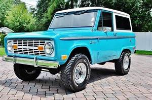 1968 Ford Bronco Inline 6  3 Speed Manual Suv Beautiful