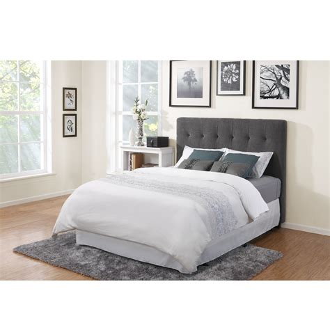 gray tufted bed fresh grey upholstered tufted headboard 18971