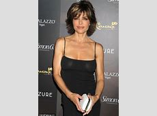 Braless Lisa Rinna, 48, reveals far too much as her dress