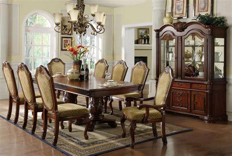 Cherry Dining Room Set by Napa Valley Cherry Rectangular Pedestals