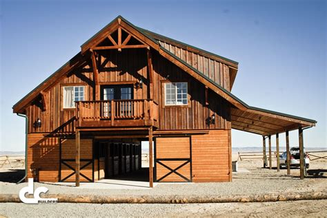 Barn With Living Quarters In Laramie, Wyoming