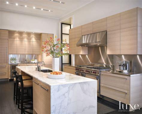 Modern White Oak Kitchen   Luxe Interiors   Design