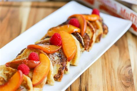 Overnight French Toast Recipe Peach Melba