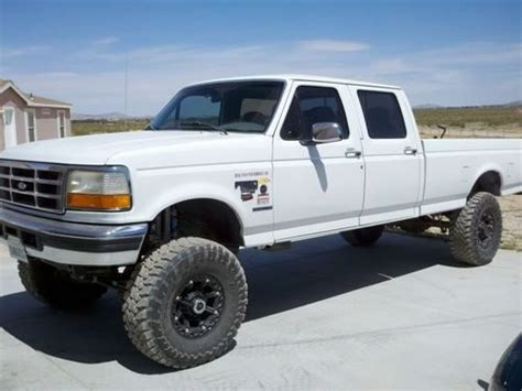 Find used 1997 Ford F350 Powerstroke Turbo Diesel 4x4 in