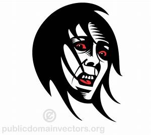 Fearful Face Clip Art | 123Freevectors