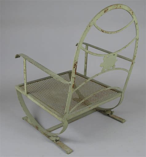 vintage wrought iron turtle lounge chair at 1stdibs