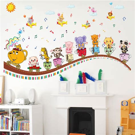 Rooms With Wall Stickers For Kids Blogbeen