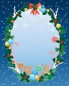 Beautiful Christmas Borders