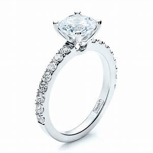 custom classic engagement ring 1469 With wedding rings classic