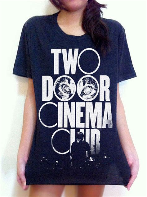 two door cinema club logo rock band from musicshirt etsy