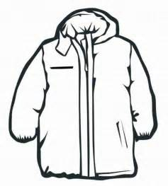 Winter Coat Coloring Pages Print