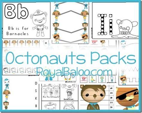 octonauts packs  prek  tot royal baloo