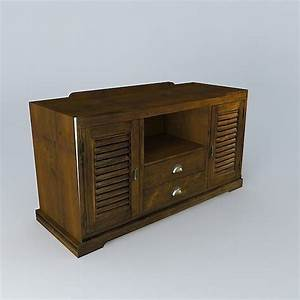 Cabinet Maison Du Monde : tv cabinet key largo maisons du monde 3d model cgtrader ~ Nature-et-papiers.com Idées de Décoration