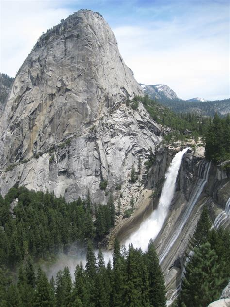 Vernal Falls Yosemite National Park California Afar