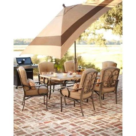 martha stewart living captiva ii 7 patio dining set
