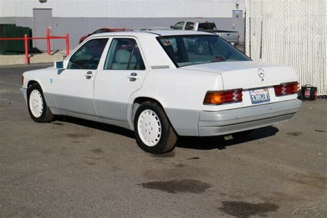 See kelley blue book pricing to get the best deal. 1989 Mercedes Benz 190E Automatic 6 Cylinder NO RESERVE - Classic 1989 Mercedes-Benz 190-Series ...