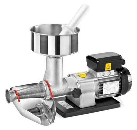 tre spade spremito electric tomato press strainer machine cutlery