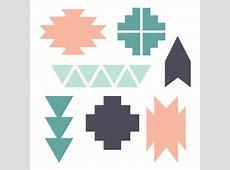Clip Navajo Pattern Art 2