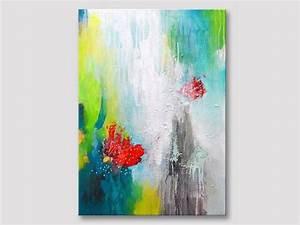 Moderne Kunst Leinwand : original abstrakte malerei abstrakte kunst moderne kunst acryl malerei bunte gem lde ~ Markanthonyermac.com Haus und Dekorationen