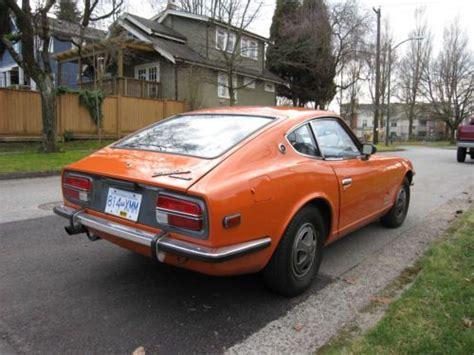 Buy Used 1972 Datsun 240z In Vancouver, British Columbia