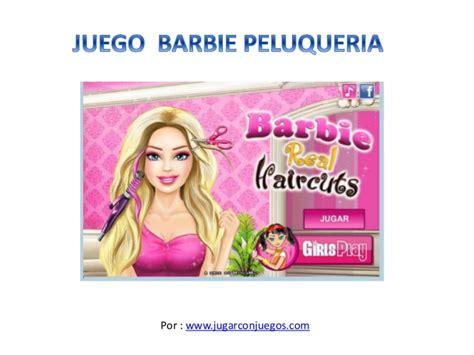 Juego Barbie Peluquería