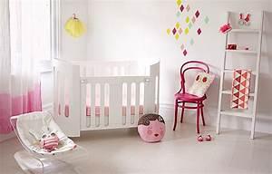6 idees pour transformer la chambre de bebe en un cocon With chambre blanche et rose