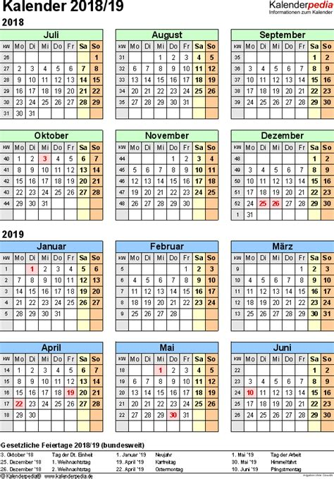 halbjahreskalender als vorlagen zum ausdrucken