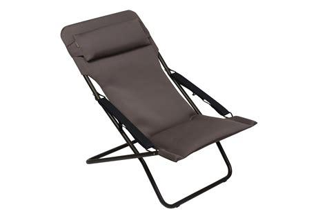 chaise longue de jardin lafuma lafuma c transabed xl plus chaise pliante air comfort mar