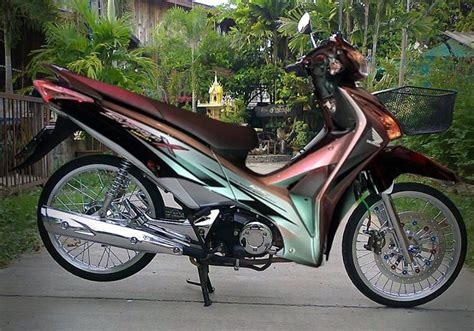 Honda Supra X 125 Fi Wallpapers by Gambar Modifikasi Supra X 125 Sederhana Terbaru Model Road