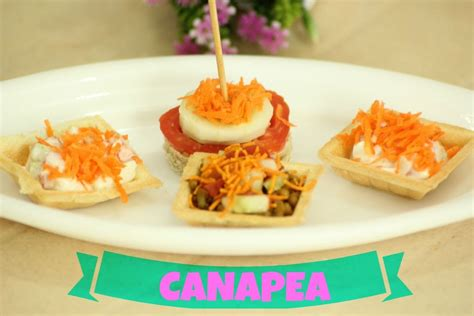 meaning of canape canapé 2 mins appetizer eggless veg