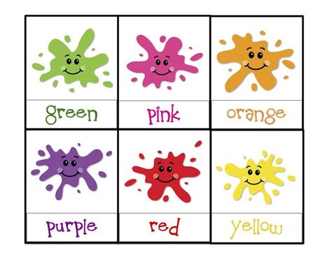 learning colors printable children s activities 881 | 79d93e6e3a068f7f207b42366162bf3b teaching colors preschool colors