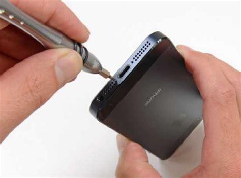 how to take apart an iphone 5 como abrir un iphone 5 para desmontar y desarmar el 20355