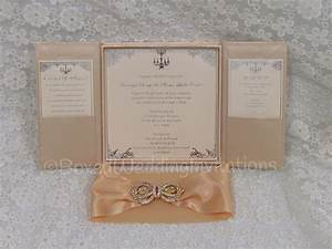 Wedding invitations in a box set wwwimgkidcom the for How to make wedding invitations box