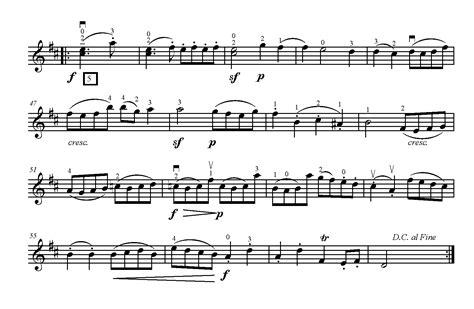 Gavotte Suzuki Book 2 by Gavotte In D Major By J S Bach Teach Suzuki Violin