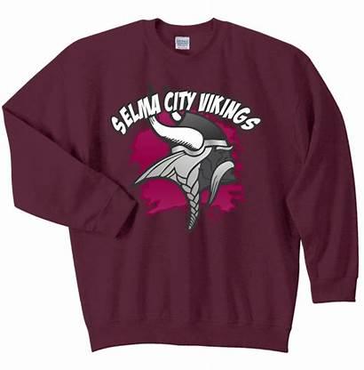 Crewneck Maroon Sweatshirt