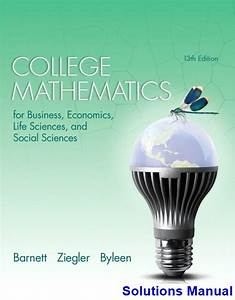 Where Can I Get College Mathematics For Business Economics